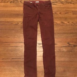 Urban Outfitters Silence & Noise maroon jeans